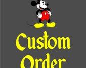 Custom order for bbcastlem
