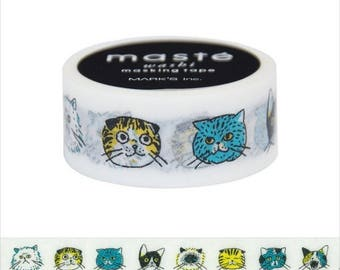 Maste Washi Tape Cat