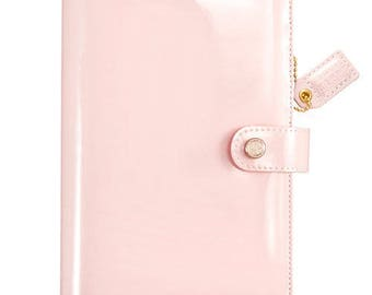 Patent Petal Pink Webster's Pages Color Crush Personal Binder (WPCP001-PTP)