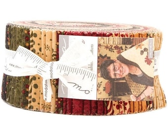"""ON SALE Gooseberry Lane Jelly Roll by Kansas Troubles Quilters for Moda Fabrics 9540JR 40 2.5"""" x 42"""" Fabric Strips"""