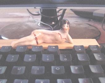 Flapper Style Bathing Beauty Figurine