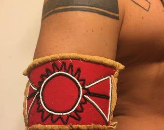 Cherokee rising sun armband Native American Cherokee Made
