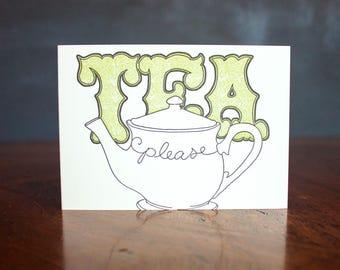 Tea Please - Card