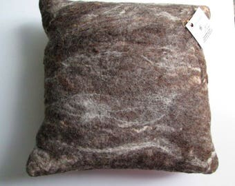 Hand Felted Wool Pillow