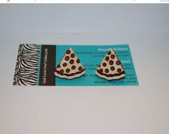 BIG Clearance Sale Pizza Slice Post Earrings