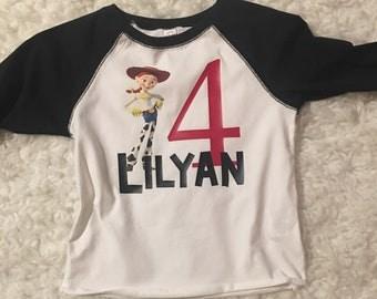 Toy Story's Jessie Inspired Birthday T-Shirt