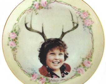 "Deer Ol' Chunk Portrait Plate 6.4"""