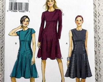 ON SALE Vogue 8848, Misses' Dress Sewing Pattern, Vogue Easy Pattern, Easy Dress Sewing Pattern, Misses' Size 6, 8, 10, 12, 14, Uncut
