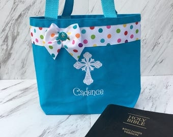 Bible bag with Cross
