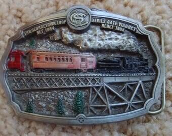 Railroad Memorabilia. Belt Buckle