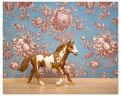 Wild horse country western decor art print - Wild At Heart