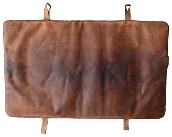 Leather Gym Mat from Germany, circa 1930