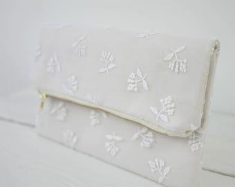 Wedding lace clutch | Bridal lace purse | wedding purse