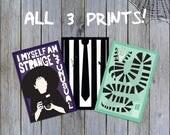 """Beetlejuice 12x18"""" Print 3-PACK"""