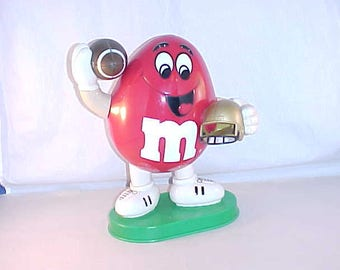 M&M Football Candy Dispenser