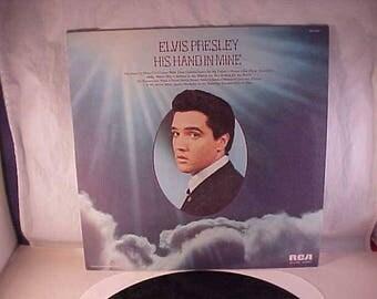 Elvis Presley - 33 LP - His Hand In Mine