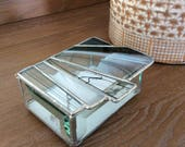 Stained Glass box, Abstra...