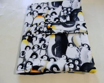 Penguin Fabric Covered Journal