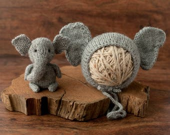 The Littlest Elephant - Made To Order, Newborn Size
