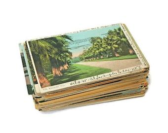 140 Vintage Post Card Lot  /  California Road Trip Souvenirs  /  C. 1900 to 1950  /  CA Landmarks  /  Linen Post Cards  /  Paper Ephemera