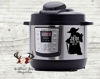 Slow Cooker Decal Etsy