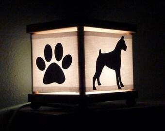 Boxer Dog Night Light Puppy Nightlight