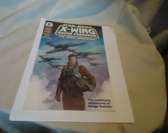 Vintage 1995 Star Wars X-Wing Rogue Squadron  1 of 4 Comic, collectable