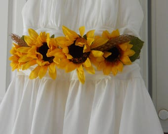 Fall Wedding Dress Sash