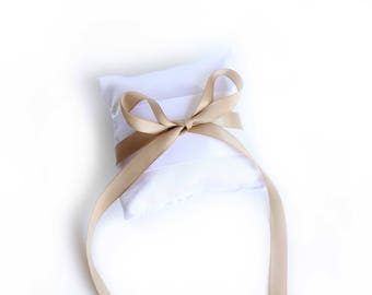 Ring pillow for a ring bearer at wedding! Ring pillow upgrade