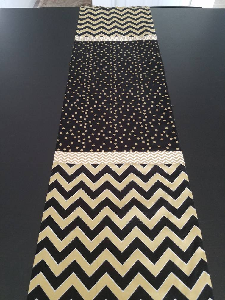 Chevron And Polka Dots, Tablecloths, Table Runners, Thanksgiving, Banded Table  Runners,