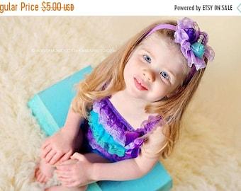 ON SALE Newborn headband, baby headband, girl headband, newborn photography prop, vintage headband