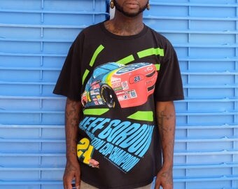 90s NASCAR Jeff Gordon Racing Tee