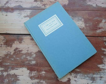 sale. A Time to Speak. POETRY Book. Thomas Caldecott Chubb. Fine Editions Press. vintage 1940s. 1943. book of poems. hardback book.