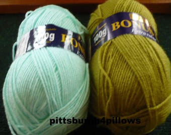 New Listing - Hayfield - Bonus DK - 100 % Acrylic - 306 Yards - Price Is For All - Colors Listed Below
