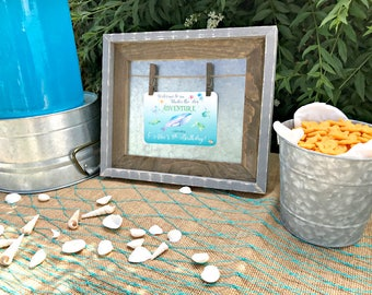 Under the Sea Party Welcome Sign