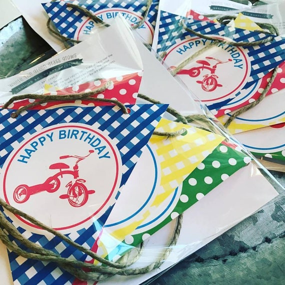 Tricycle Party Banner