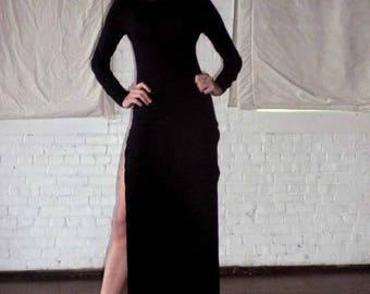Double Side Slit Maxi Dress