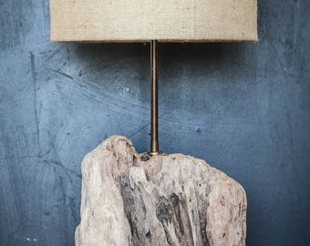 Driftwood Lamp.Drift Wood Table lamp,Driftwood Table lamp,Shade sold separately, Driftwood Table Lamp, Base Only, Drift Wood Tree Trunk,