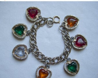 ANNIVERSARY SALE ART Heart Charm Bracelet