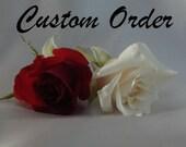 Reserved for Nicole - CUSTOM ORDER
