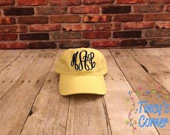 Woman's Yellow Cap