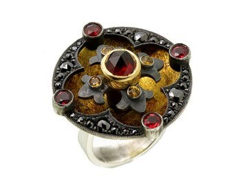 Rouge Disk Ring