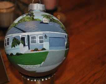 Nice Hand Paint Home Ornament done from picture  - sold