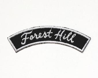 Forest Hill Richmond Virginia Neighborhood Rocker Patch