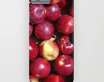 Red apples phone case | gift for chef, cook, foodie, iphone, ipod, galaxy s8 s7 s6 s5 s4, unique  Christmas gift for her