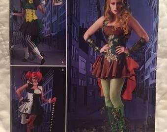 Women's Steampunk Villaness corset costume cosplay Simplicity S0678