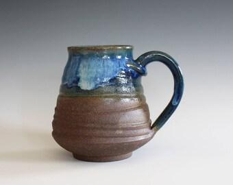 LARGE Mug, 19 oz, ceramic cup, handthrown mug, stoneware mug, pottery mug, unique coffee mug, ceramics and pottery
