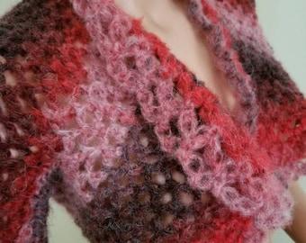 Shrug crochet made