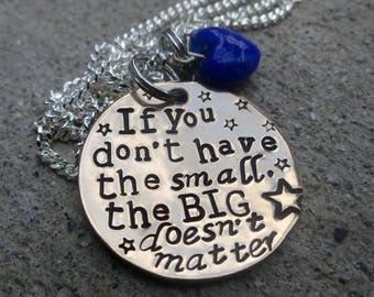 Joss Whedon - have the small - Handstamped Copper Necklace