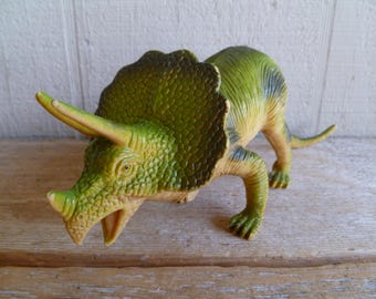 Triceratops Dinosaur Figurine Cake Topper